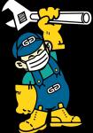 GA Official Mascot Masked